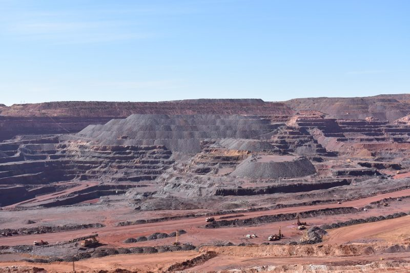 The massive open pit at Sishen
