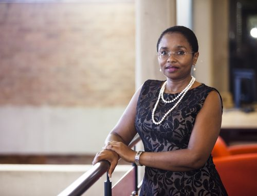 Dr Thuthula Balfourtalks about issues of health