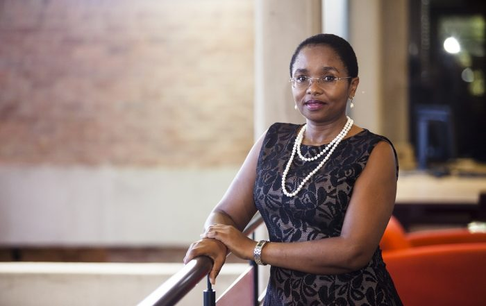 Dr Thuthula Balfour, head: Health Department at the Chamber of Mines.
