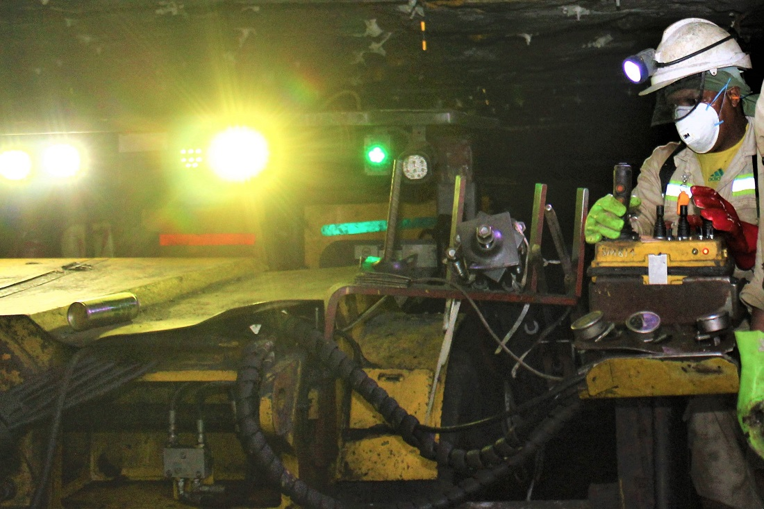 Operating mechanised equipment has introduced a new set of skills to mine workers.