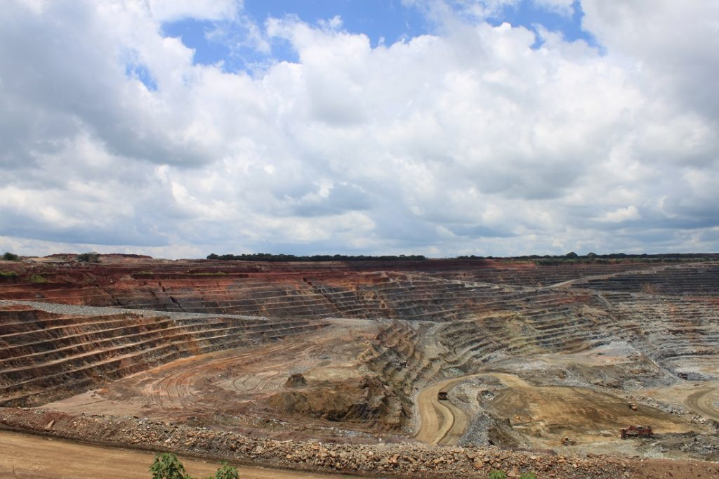 The Kansanshi copper mine in Zambia is one of the biggest copper mines in Africa.