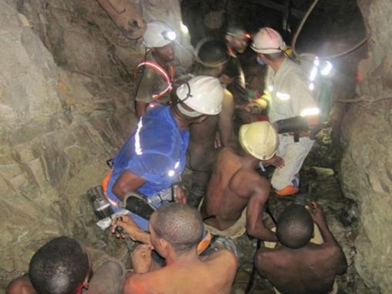 Arrests of illegal miners underground at one of Sibanye-Stillwater's operations