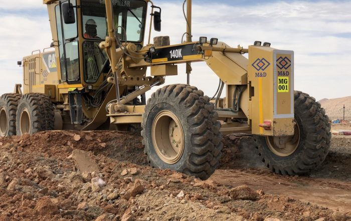 M&D - The construction of the mine's concentrator is under way at the Gamsberg project in the Northern Cape.