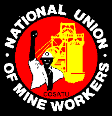 NUM members continue to strike at Gold Fields' South Deep Mine. Image credit: NUM