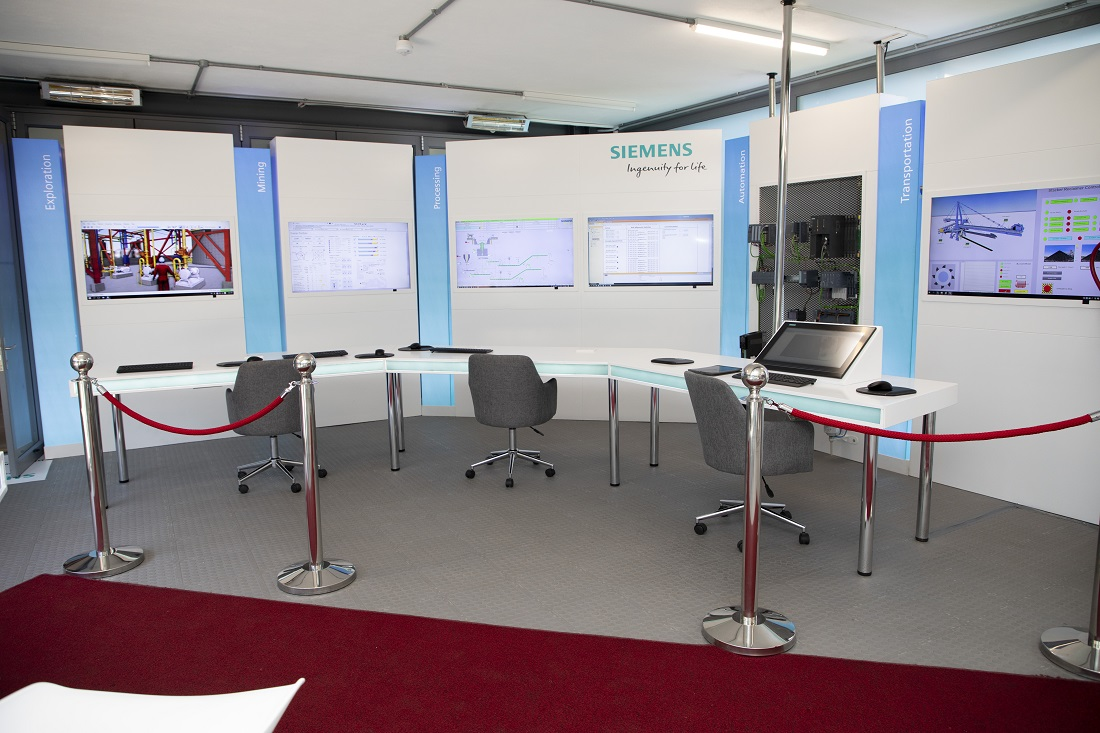 Siemens - The digital Mining Incubator (DMI) at Wits University's Tshimologong Digital Innovation Precinct. Image credit: Siemens