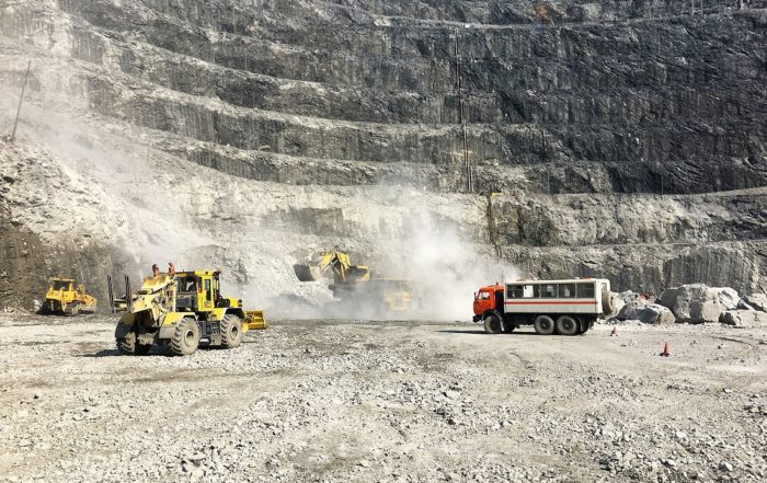 Eight automation solutions deployed at Polyus' Olimpiada surface mine in Krasnoyarsk in Russia courtesy of RCT. Image credit:RCT