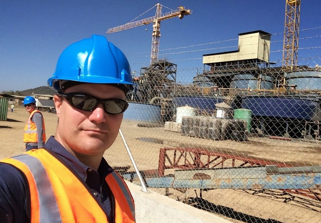 Mark Wanless, director of SRK Global as well as principal resource geologist and partner in the SRK Johannesburg office. Image credit:SRK