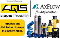 AQS Liquid Transfer (Pty) Ltd is an importer and distributor of pumps in Southern Africa. The AQS entity started operating in 1994.