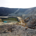 One of the 16 open pits mined by Iscor in the 1990s.