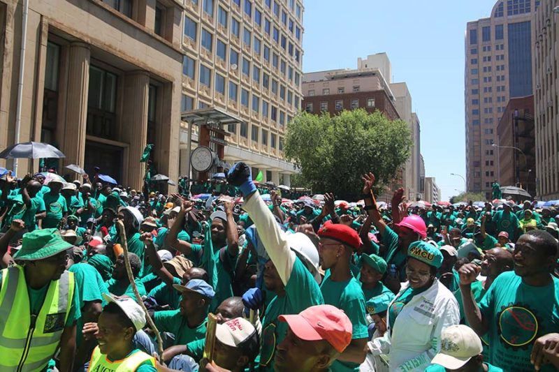 AMCU strike over