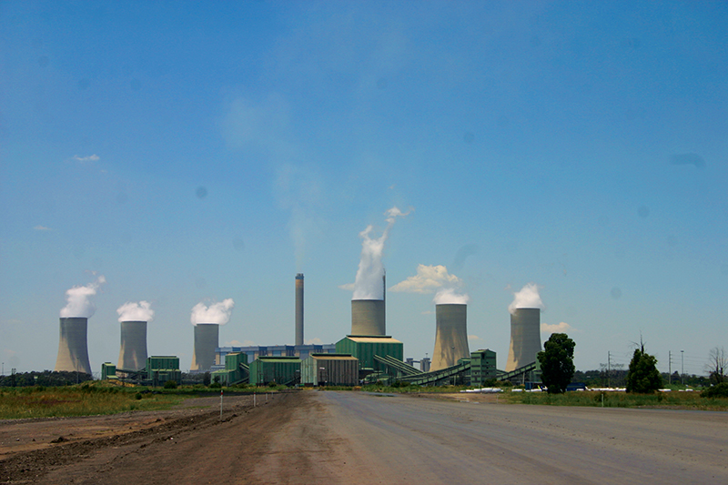 According to the Global Coal Plant tracker, 1600 coal plants are currently being planned or under construction in 62 countries. Image credit: Leon Louw