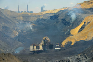 Coal mining has been a bedrock of the South African economy for many years. Image credit: Leon Louw