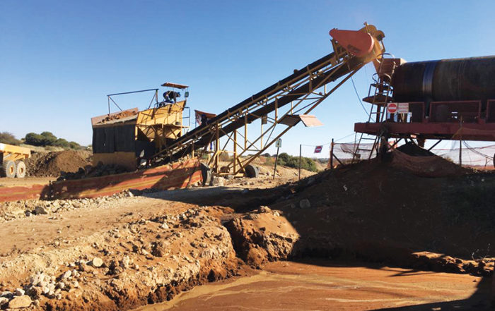 The number of alluvial diamond miners in South Africa has dropped significantly over the past few years as a result of a number of constraints.