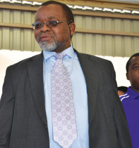 The Minister of Mineral Resources, Gwede Mantashe, has on numerous occasions expressed government's wish to attract new exploration companies. Image credit: Leon Louw