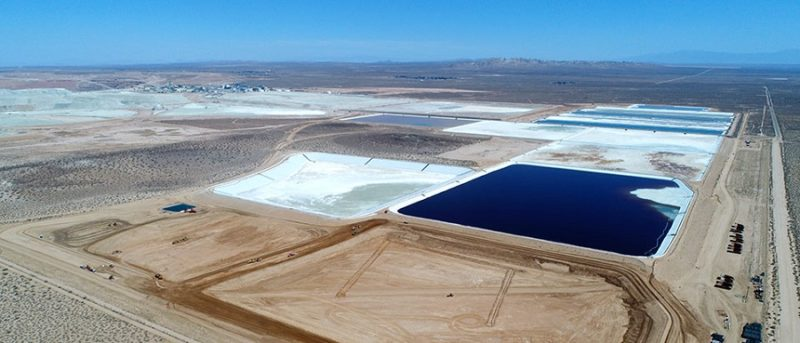 Tailings facility update