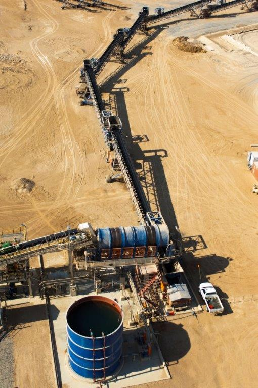 Heap leaching is a popular method of processing gold at shallow opencast mines